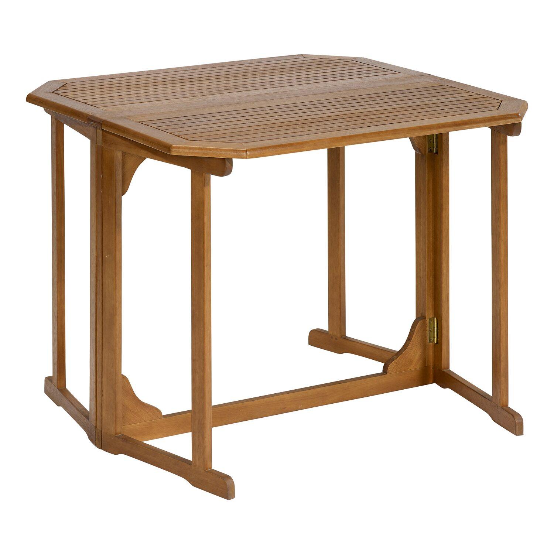 Tavoli Da Giardino In Legno Obi.Obi Tavolo Richiudibile Da Balcone Greenville 100 Cm X 92 Cm Obi