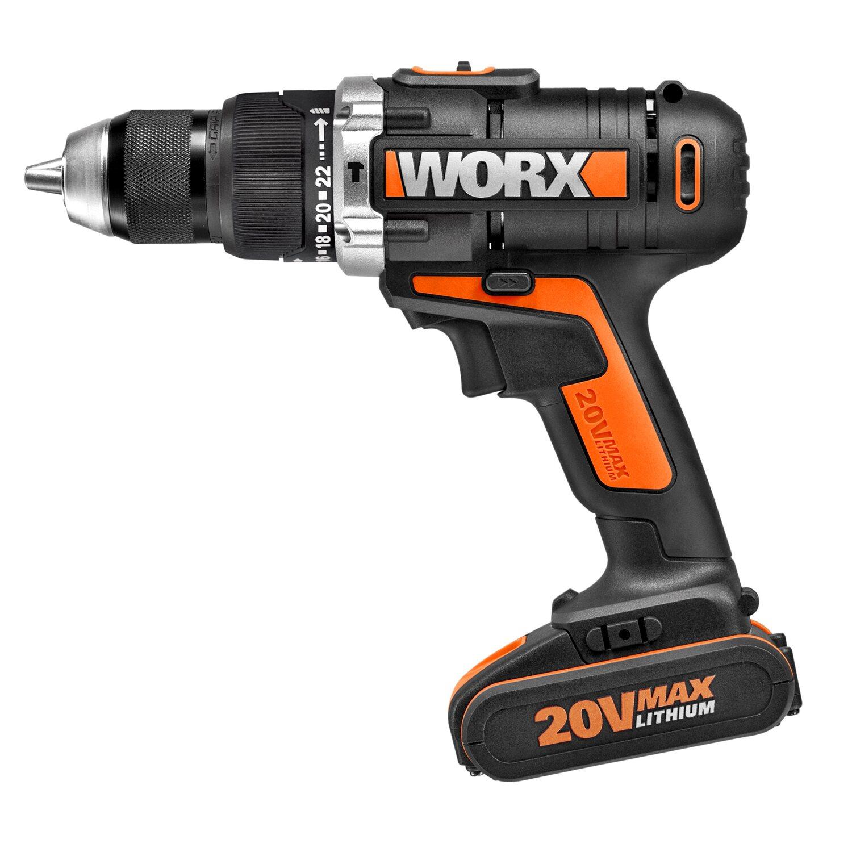 migliore qualità per acquista per nuovo stile di vita Worx trapano avvitatore a batteria WX372.1