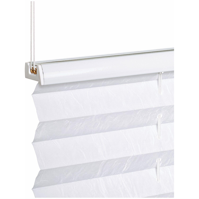 obi tessuto plissettato controventato milena 90 cm x 130 cm bianco acquista da obi. Black Bedroom Furniture Sets. Home Design Ideas