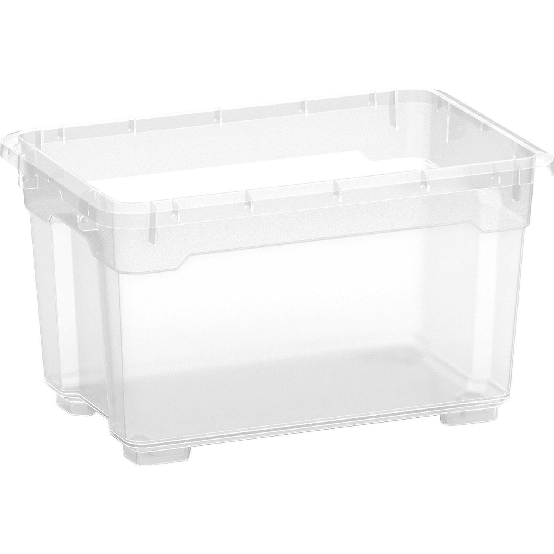 Contenitori In Plastica Brico.Obi Contenitore Corpo Santos Box Trasparente Xxs