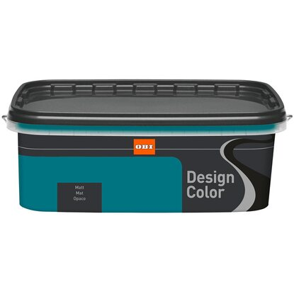 OBI Design Color Petrol matt 2,5 l
