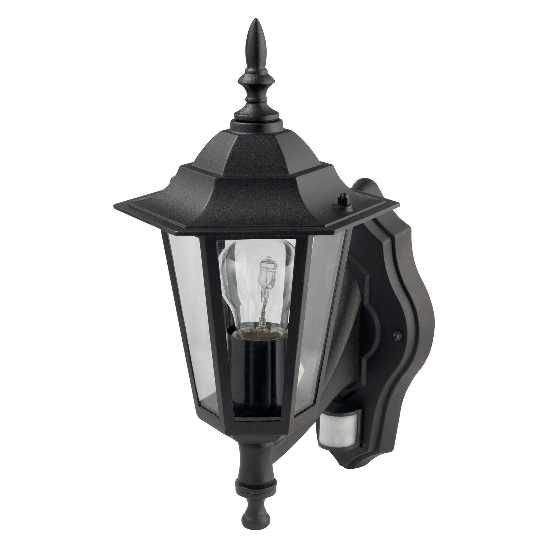 Obi applique per esterno molinella con sensore di for Obi illuminazione