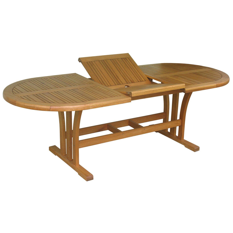 Tavoli Da Giardino In Legno Obi.Obi Tavolo Estraibile Chelsea Ovale 170 230 X 100 Cm Obi