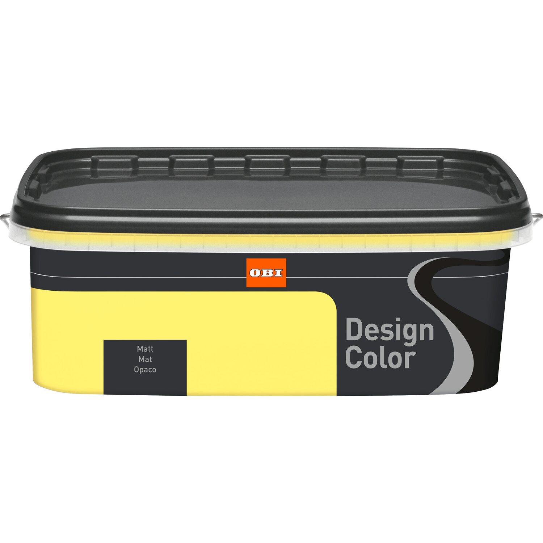 Obi Design Color Skyline Matt 2 5 L Acquista Da Obi: OBI Design Color Lemon Juice Matt 2,5 L Acquista Da OBI