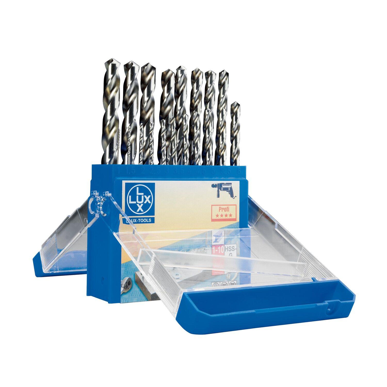 Lunga 5.6 mm KS Tools 330.7056 Punta Elicoidale HSS-G Confezione da 10