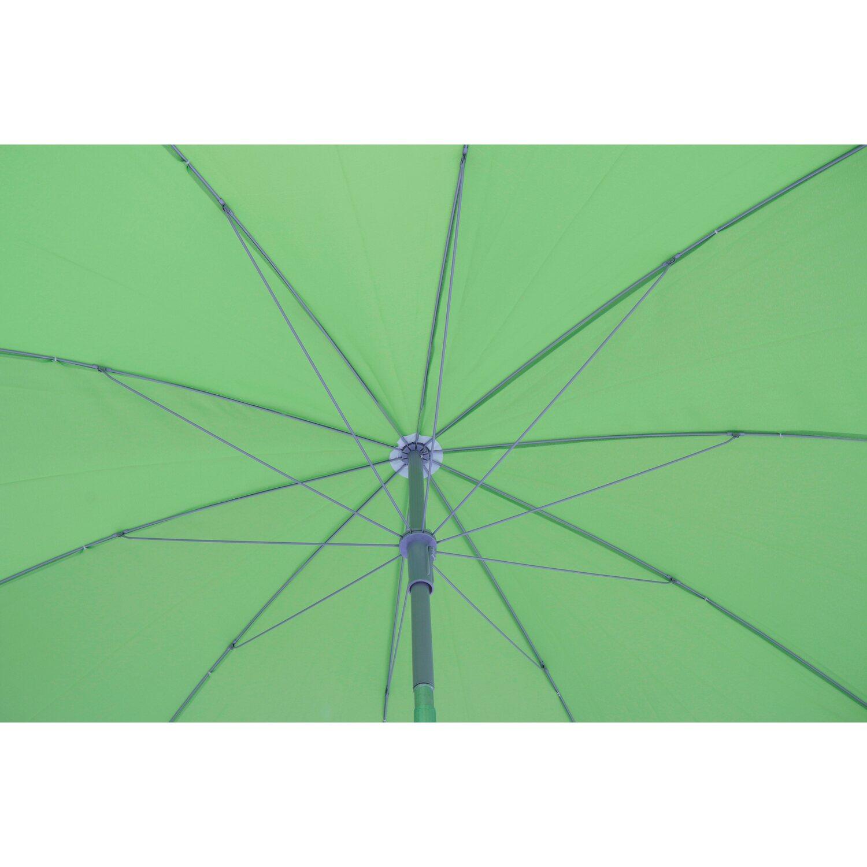 Ombrellone da balcone CMI tondo verde chiaro acquista da OBI