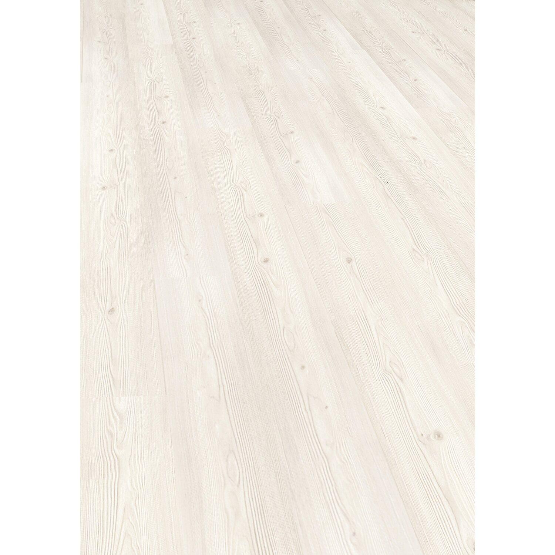 Obi pavimento in laminato comfort bianco struttura in for Obi pannelli legno