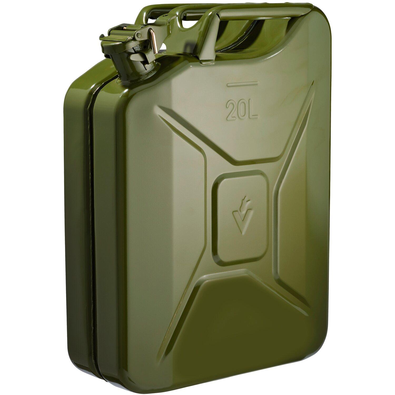 TANICHE bezinkanister Riserva Tanica carburante metallo tanica 20 LITRI
