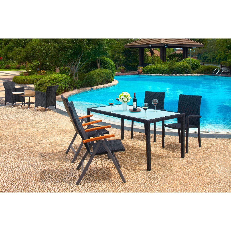 Tavolo davenport marrone 160 x 90 cm acquista da obi for Obi tavoli giardino