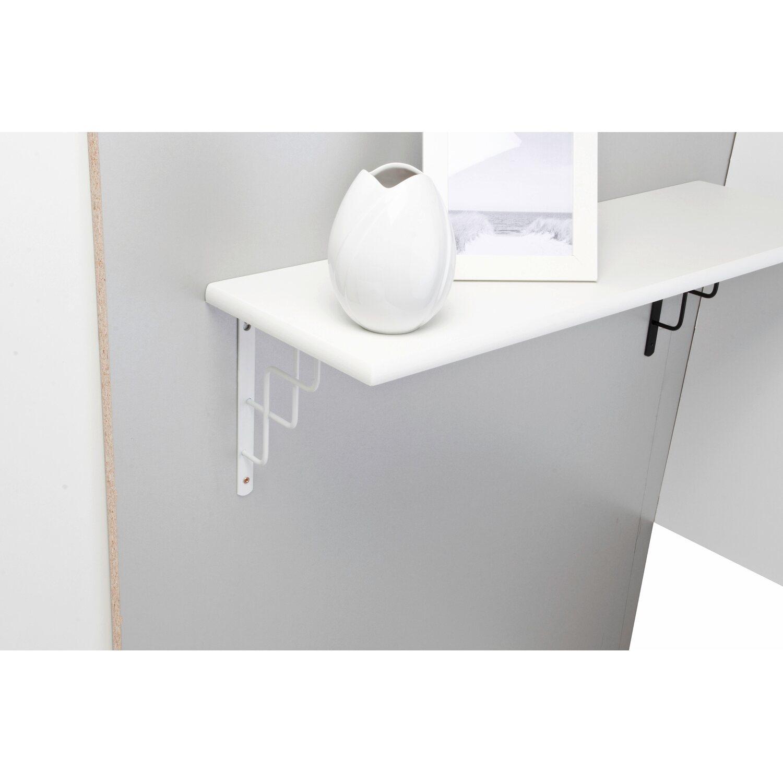 Obi reggimensola roxy bianco 230 mm x 180 mm acquista da obi for Obi mensole
