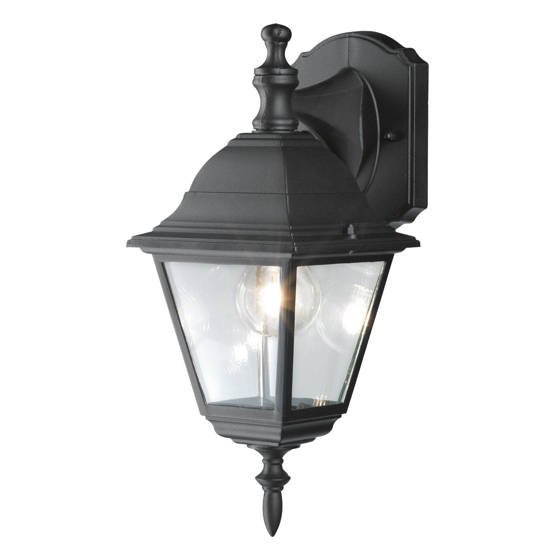 Obi applique per esterno discendente perugia nero acquista for Obi illuminazione