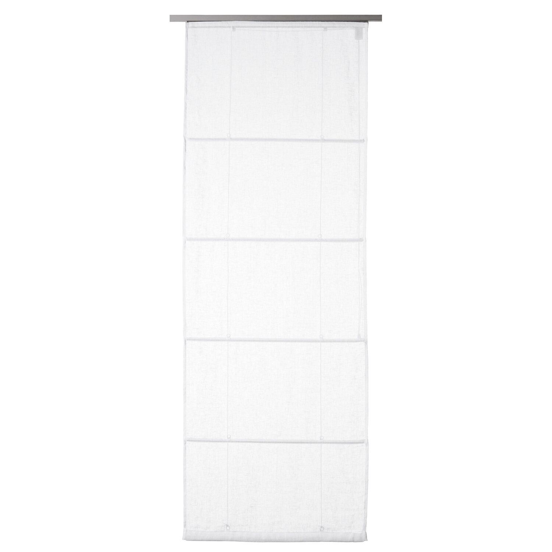 obi tenda a rullo in lino fabiona 60 cm x 170 cm bianca acquista da obi. Black Bedroom Furniture Sets. Home Design Ideas