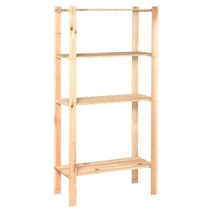 obi scaffale da montare in legno 170 cm x 85 cm x 40 cm