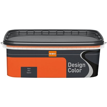 OBI Design Color Blutorange matt 2,5 l
