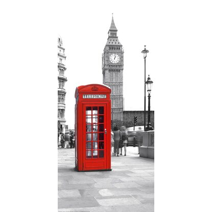 Adesivo per porta Deco Door Calling From Big Ben