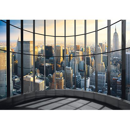 Fotomurale deco wall new york office view 254 cm x 366 cm for Fotomurali leroy merlin