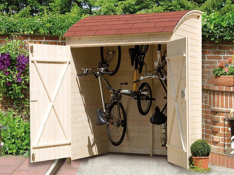 Casetta per biciclette