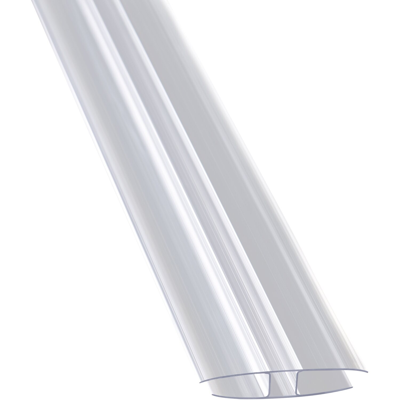Profilo centrale di bloccaggio ad h trasparente 0 6 cm for Lastre bituminose obi