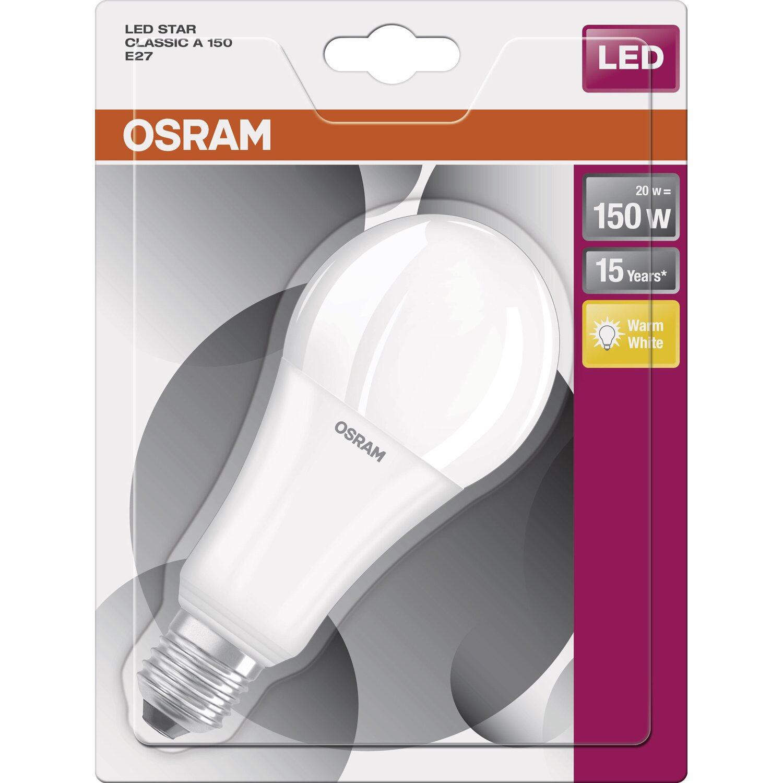 Osram lampadina led star classic e27 luce calda acquista for Lampadine led 60 watt