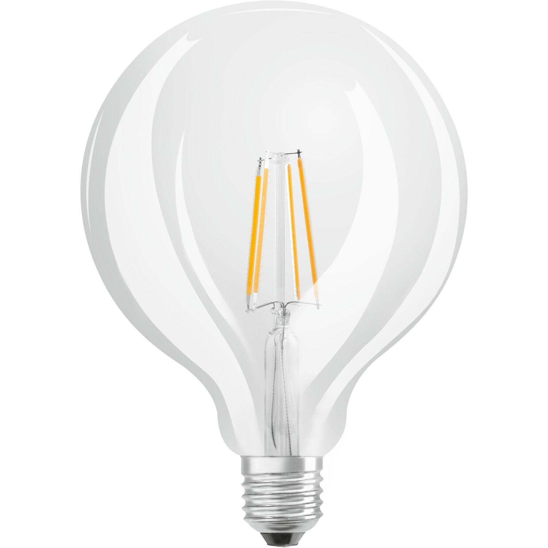 Lampadine A Led Luce Calda.Osram Lampadina Led Tutto Vetro Retrofit Globo E27 Luce Calda