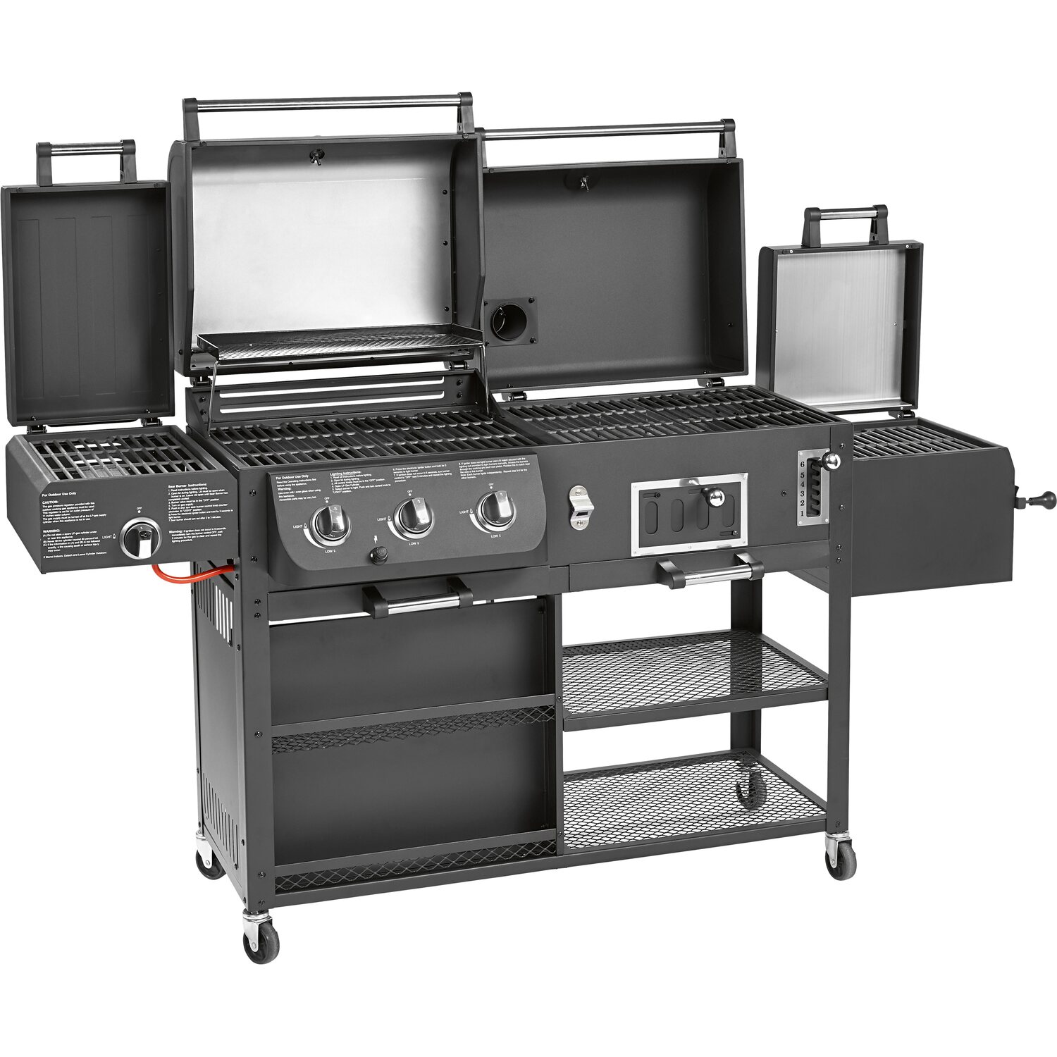 Yard, Garden & Outdoor Living Provided Pinza Da Barbecue In Acciaio Inox