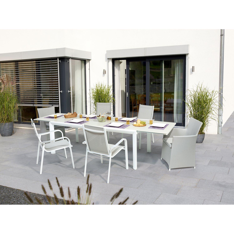 Tavoli Da Giardino In Legno Obi.Obi Tavolo Allungabile Alluminio Princeton Acquista Da Obi