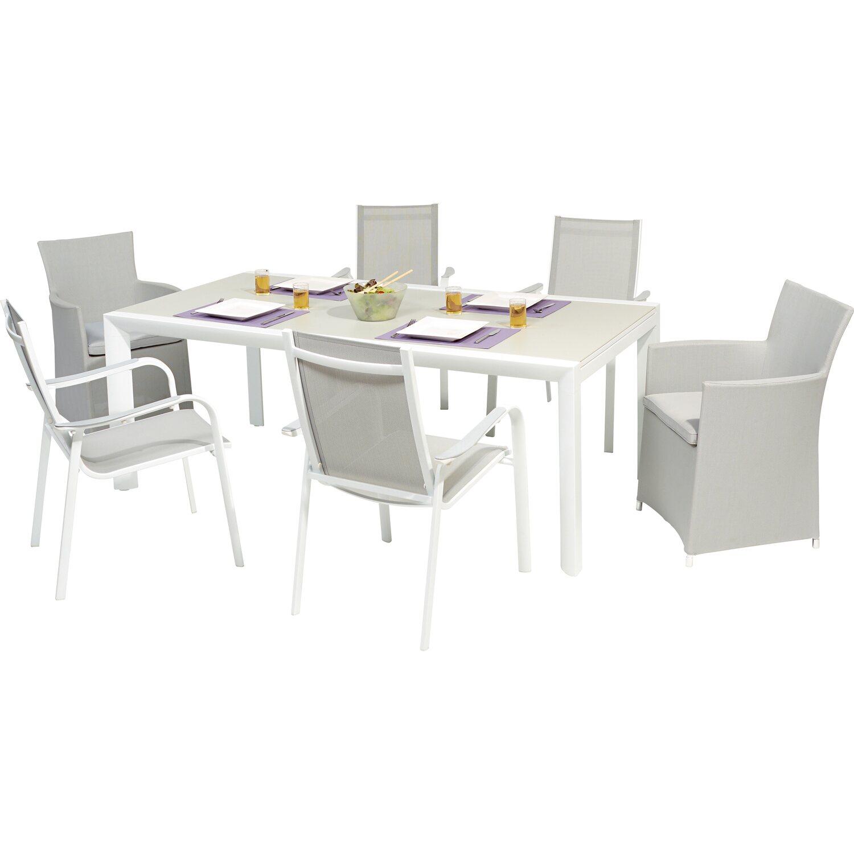 Tavolo Da Giardino Estensibile.Obi Tavolo Allungabile Alluminio Princeton