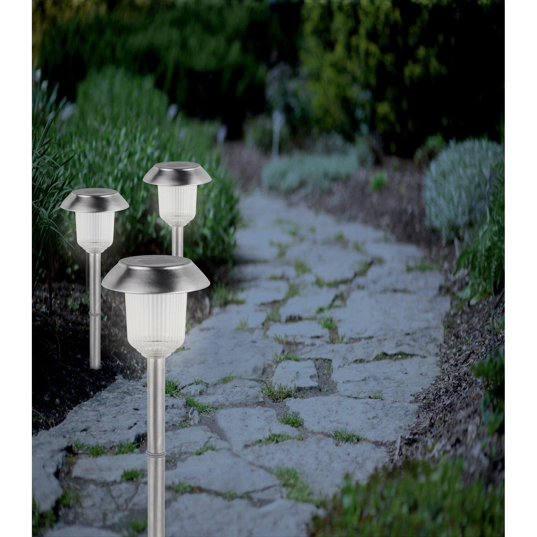 Lampada led solare cmi con picchetto set 6 pezzi acquista for Obi illuminazione