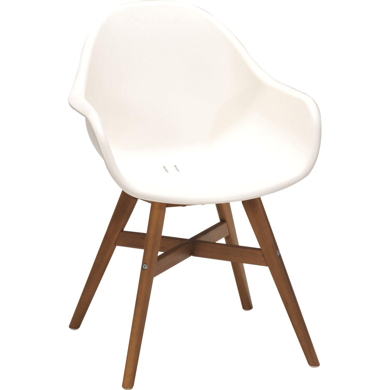 Obi sedia in plastica algona bianca acquista da obi for Sedia plastica bianca
