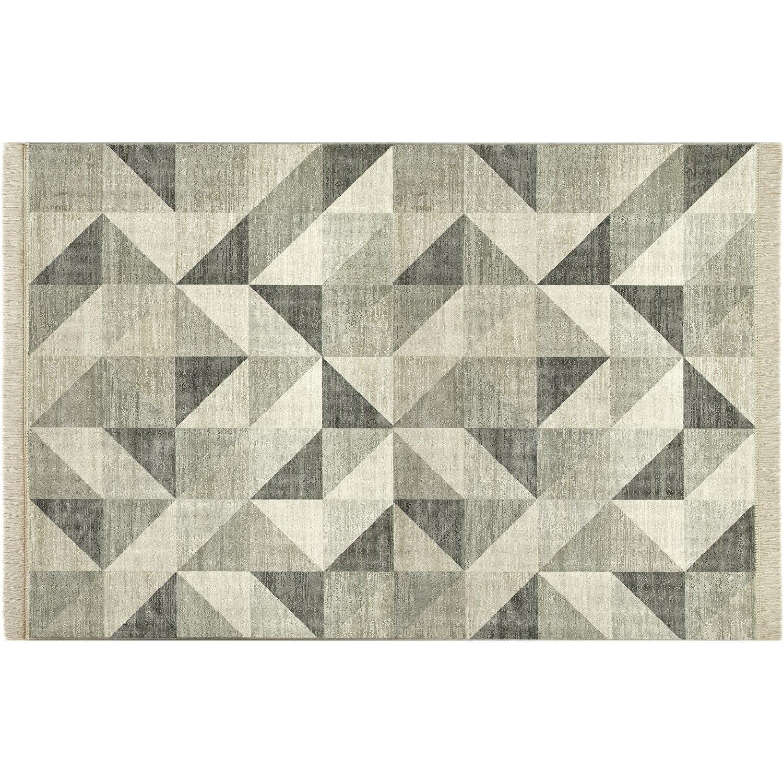 Tappeti Grandi Da Esterno tappeto regina design 759/6353 avorio-bianco 135 cm x 195 cm