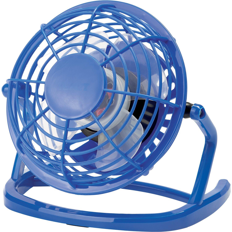 Ventilatore mini usb blu acquista da obi for Ventilatori da soffitto obi