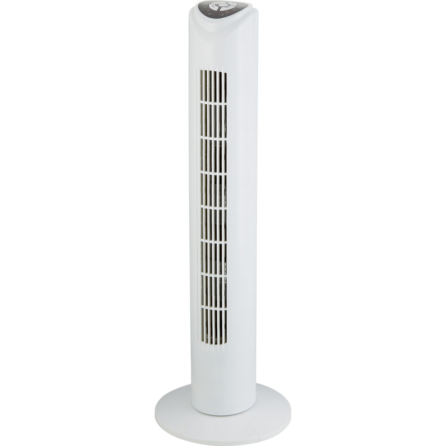 Ventilatore tower con telecomando 81 cm bianco acquista da obi for Obi ventilatori