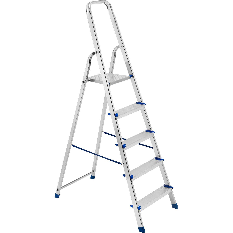 Altezza Gradini Scala framar scala piuma in alluminio a 5 gradini | obi