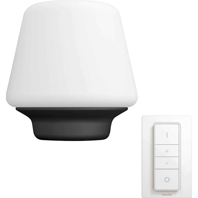 Lampada Led Con Telecomando.Philips Hue Lampada Da Tavolo Led Wellness Con Telecomando Dimmer