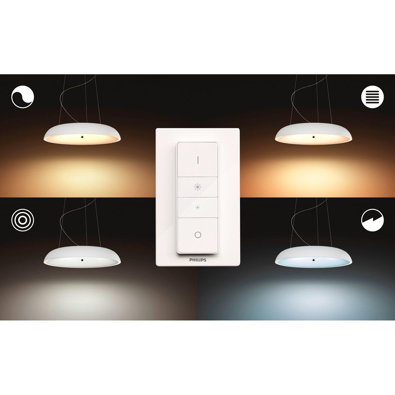 Accensione Lampadario Con Telecomando philips hue lampadario a sospensione led amaze con telecomando dimmer switch