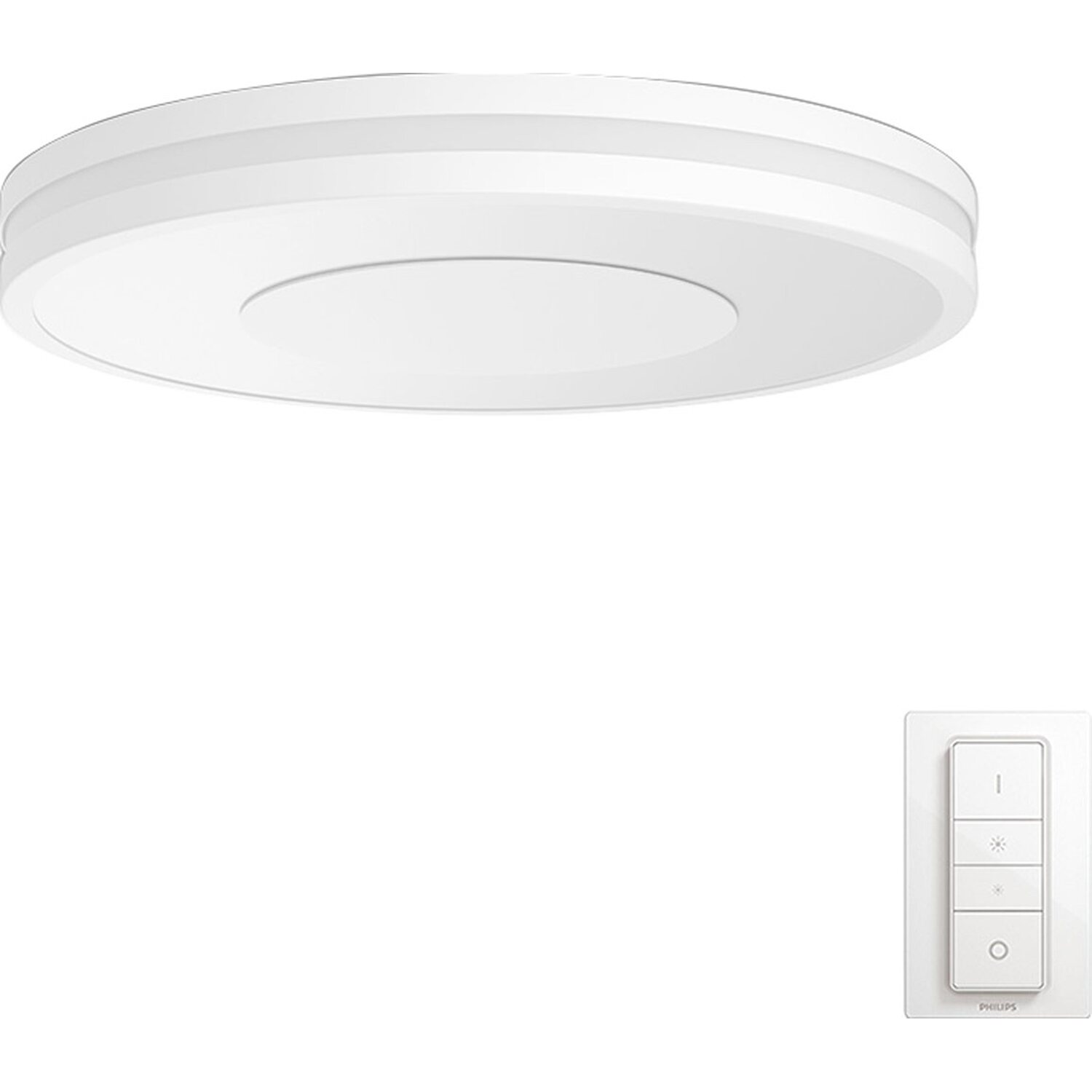 Plafoniera Led Philips.Philips Hue Plafoniera Led Being Con Telecomando Dimmer Switch