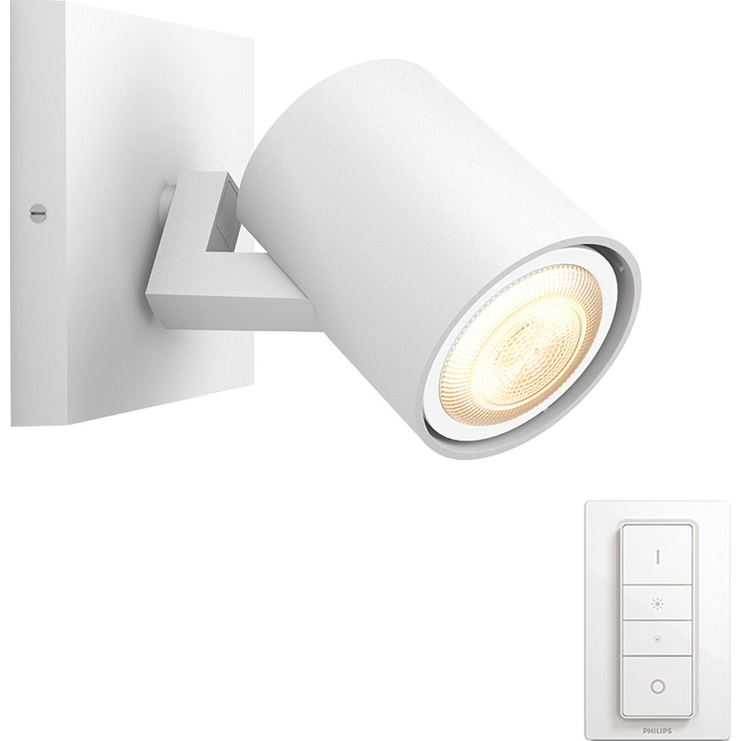 Philips hue faretto led runner con telecomando dimmer for Faretti esterni led