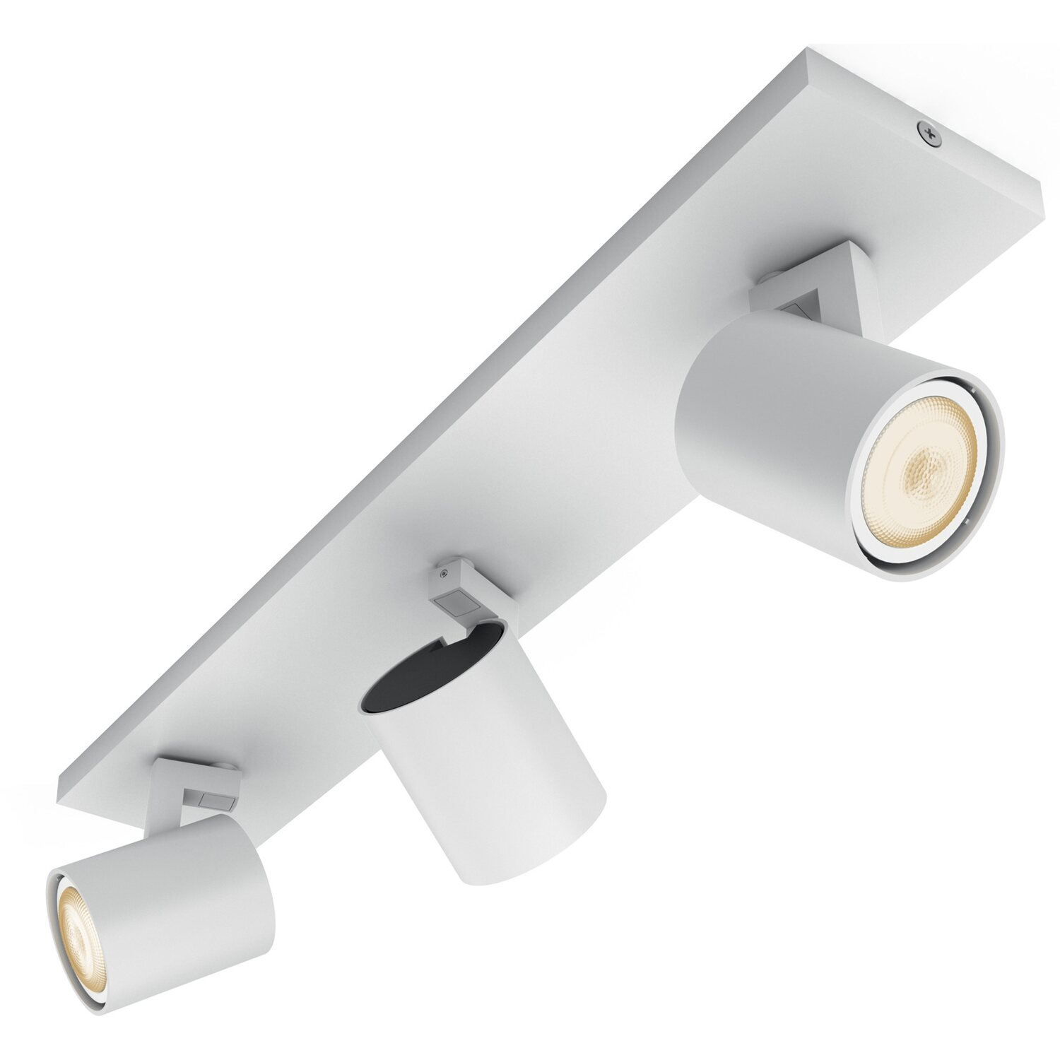 Philips hue barra a 3 faretti led runner con telecomando for Lampadine led faretti