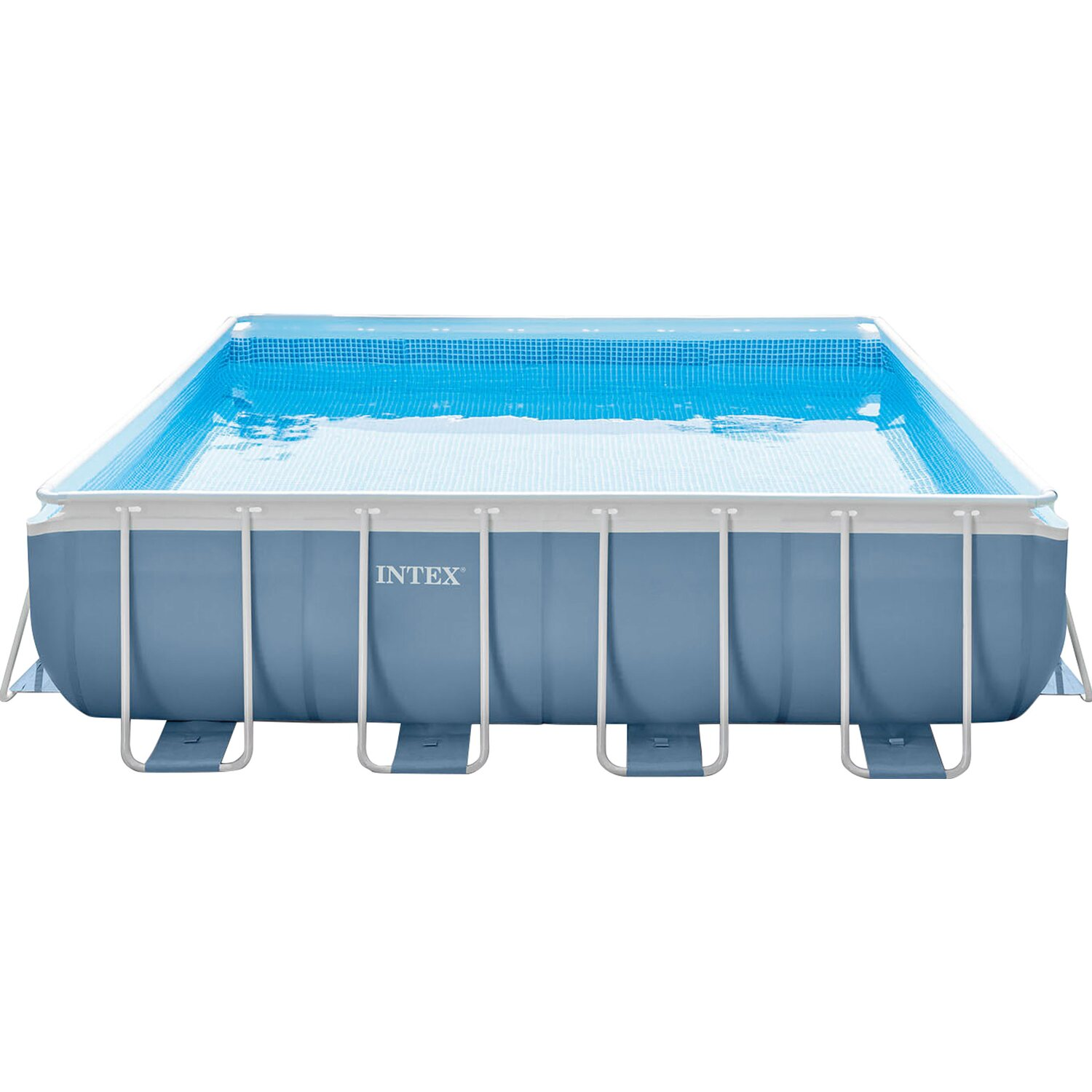 Intex piscina prisma frame quadrata 427 cm x 427 cm x 107 for Intex piscine catalogo