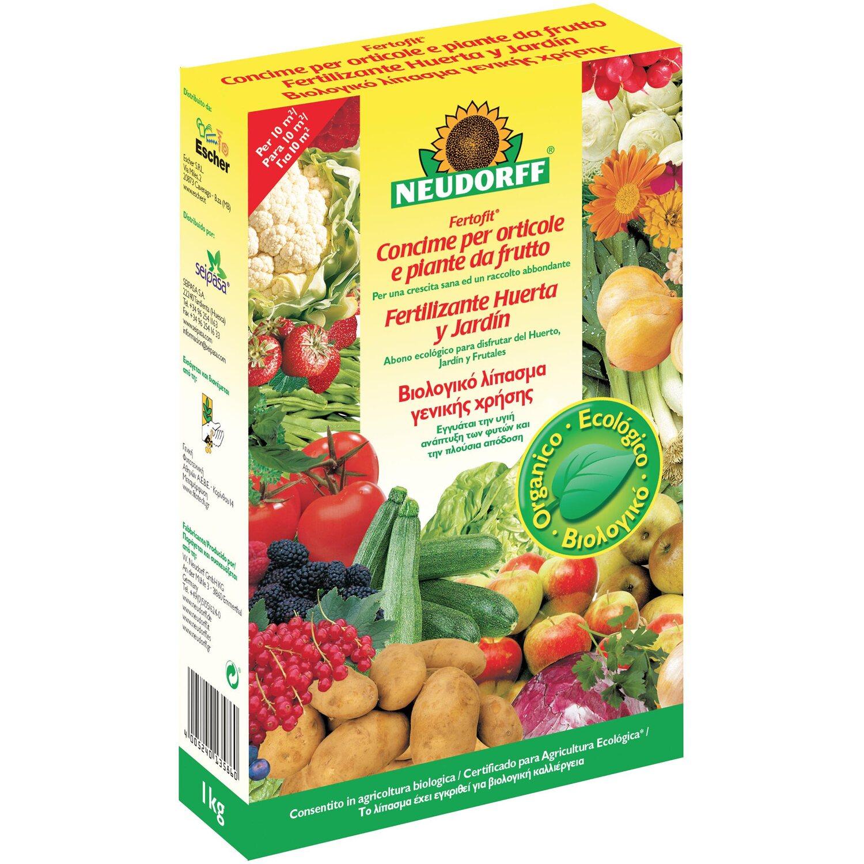 Concime Per Piante Da Frutto : Neudorff concime granulare azet per orticole e piante da