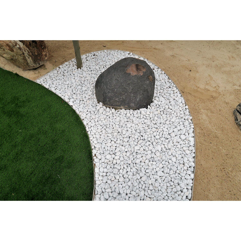 Ciottolo di marmo bianco carrara 40 60 mm acquista da obi for Ciottoli bianchi giardino prezzo