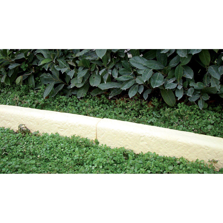Vialetti In Pietra Prezzi cordolo classico dritto in pietra ricostruita bianco | obi