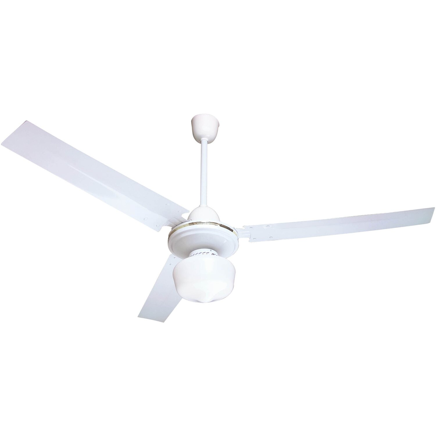 Ventilatore da soffitto con luce 120 cm acquista da obi for Obi ventilatori