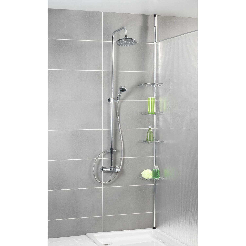 Angoliera telescopica acciaio inox prea acquista da obi - Angoliera bagno ...