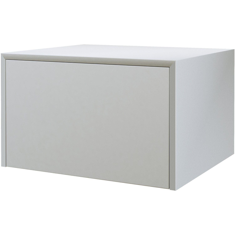 Cassettiera Larghezza 50 Cm.Cassettiera Tavolone Bianco Opaco 50 Cm X 43 Cm X 30 Cm Acquista Da Obi