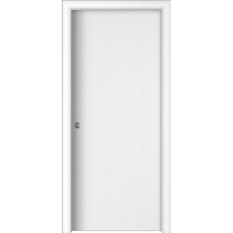 Porta Scrigno 60 Cm porta scorrevole reversibile badia bianca 200 cm x 60 cm