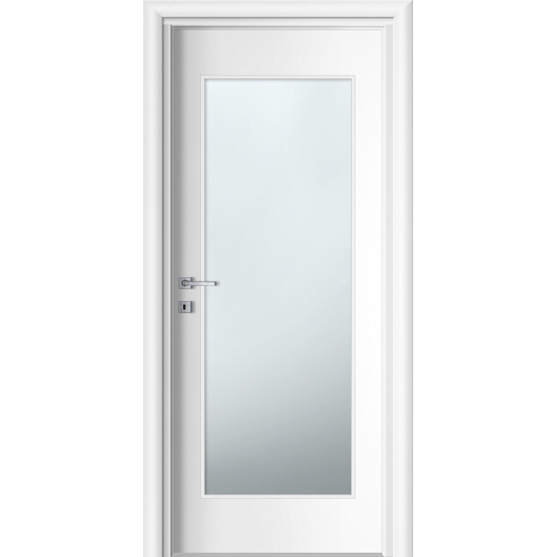 Porta battente vetrata reversibile badia bianca 210 cm x for Porte 60 x 70