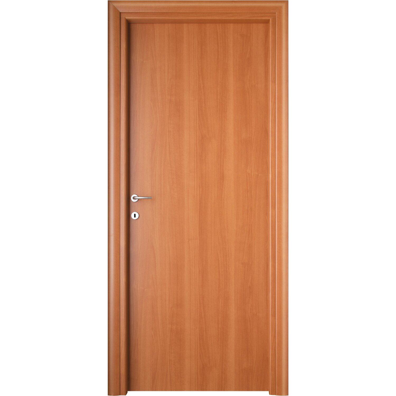 Porta a battente reversibile dois tanganika chiaro 210 cm - Porte da interno obi ...