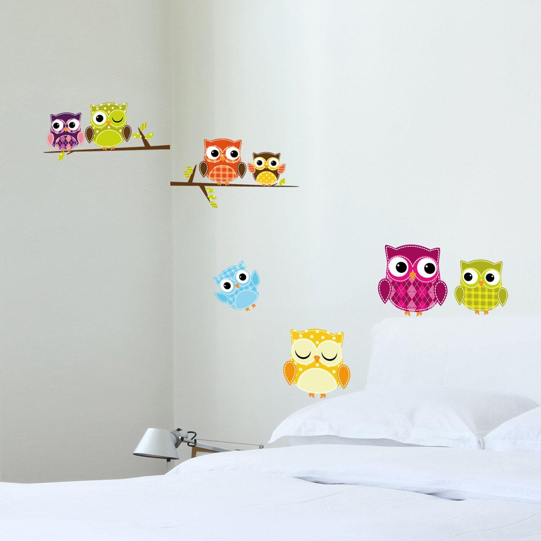 Decorazioni adesive per parete gufi acquista da obi for Decorazioni da parete adesive