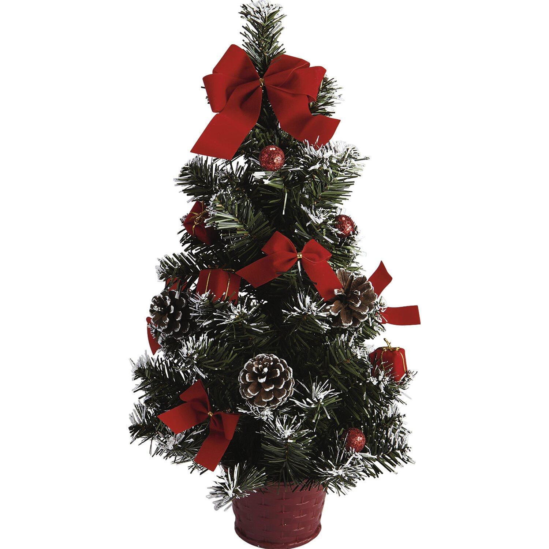 Mini albero di natale con vaso 45 cm acquista da obi for Alberi natale artificiali
